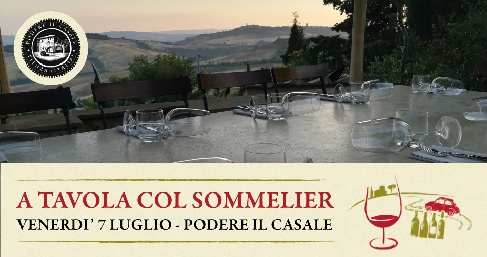 A tavola col sommelier