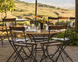 farm to table ristorante podere il casale pienza