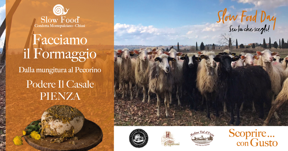 Slow Food Day a Podere Il Casale Pienza