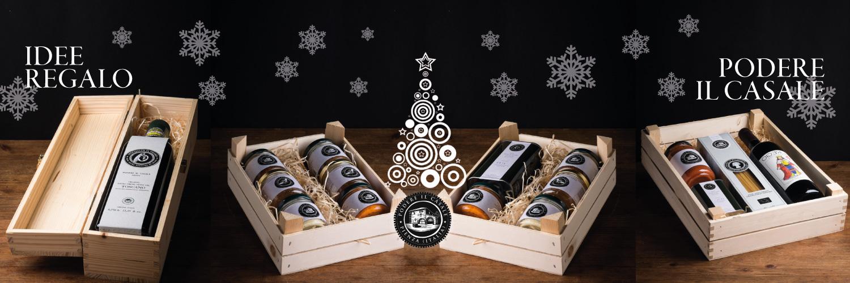 Idee regalo natale cesto di prodotti tipici podere il casale - Piccole idee regalo per natale ...