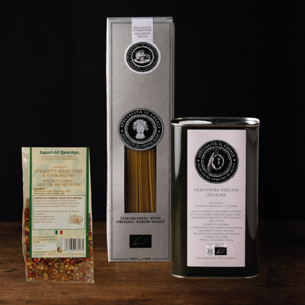 Pacchetto Goloso: Pasta, Olio e Spezie