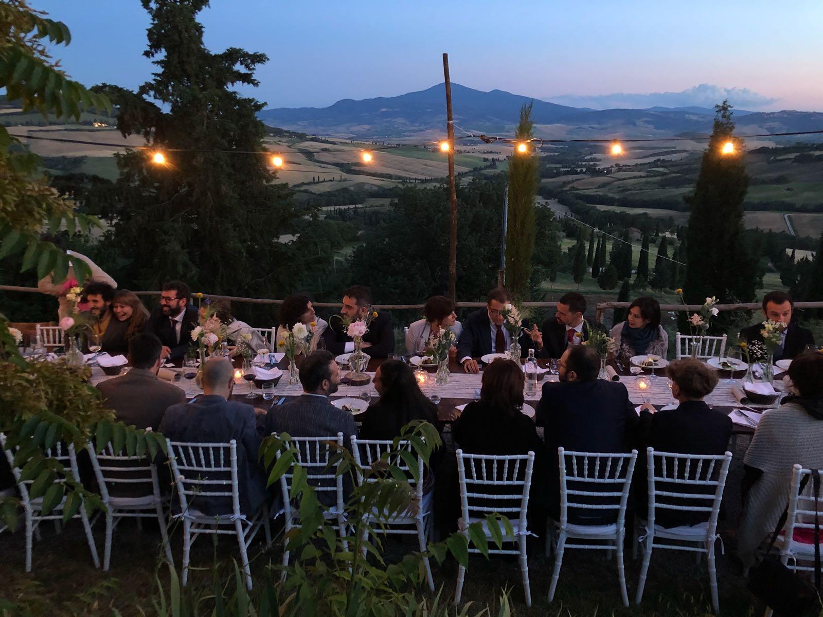 wedding pienza toscana