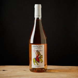 Rose wine tuscany organic