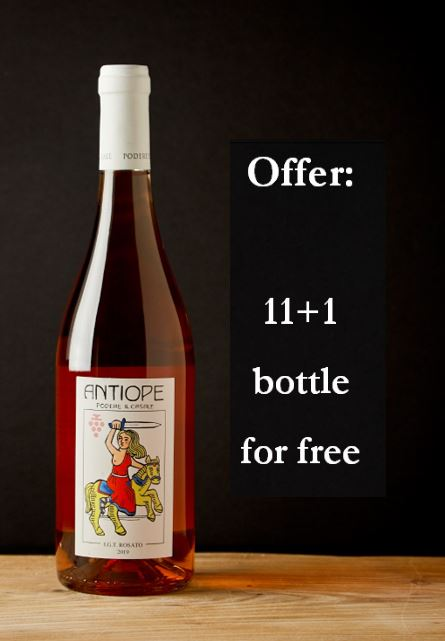 antiope rosato 2019 package