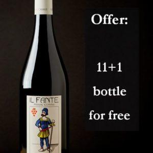 Tuscan sangiovese wine organic