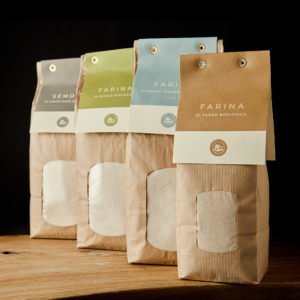 Organic flour from ancient grains Tuscany
